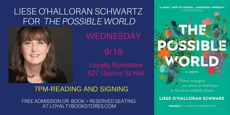 Liese O'Halloran Schwarz for The Possible World tickets