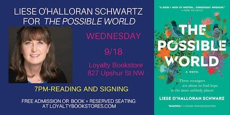 Liese O'Halloran Schwartz for The Possible World tickets