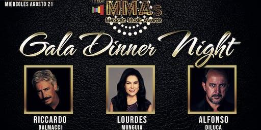 Cena de Gala The MMAs Mexican Music Awards 2019
