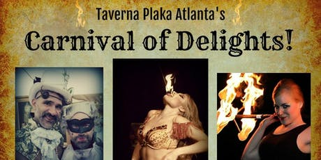Carnival of Delights at Taverna Plaka--A Benefit Show for Eric + Nieves tickets