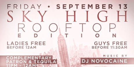 Sky High @ Hudson Terrace tickets