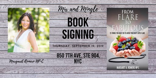 Book Signing: Mix and Mingle