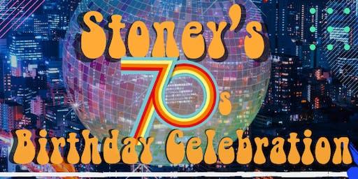 Stoneys 70's theme party