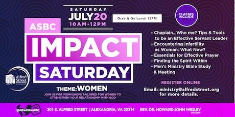 ASBC presents July Impact Saturday tickets