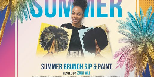 EmpowerHER Presents Summer Brunch Sip & Paint and Summer Day Part