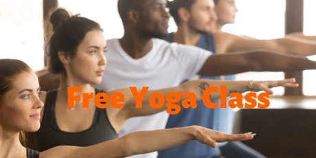Free Yoga Class 4 Beginners tickets