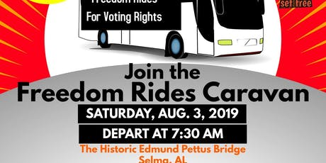 Freedom Rides for Voting Rights tickets