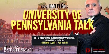 University of Pennsylvania Talk tickets