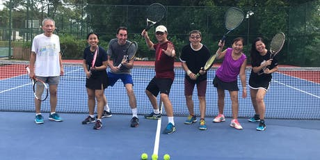 Complimentary Beginner Tennis Workshop (Adults) by Racket SG tickets