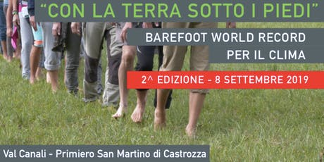 Barefoot World Record per il clima 2019 tickets