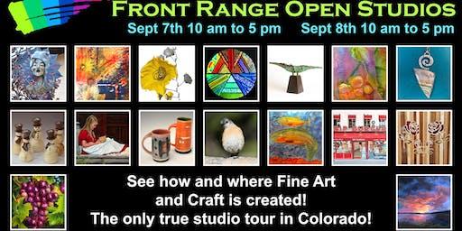 Front Range Open Studios Tour Weekend