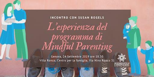 L'esperienza del programma di Mindful Parenting: incontro con Susan Bogels