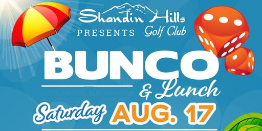 Summer Bunco at Shandin Hills- Vendor