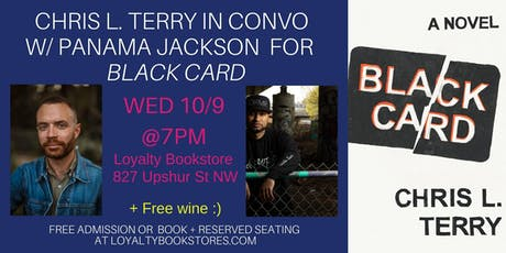 Chris L. Terry in Conversation with Panama Jackson for Black Card tickets