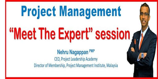 Project Management: Meet-The-Expert Session