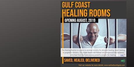 The Gulf Coast Healing Rooms tickets