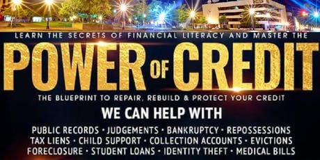 The POWER Of CREDIT tickets