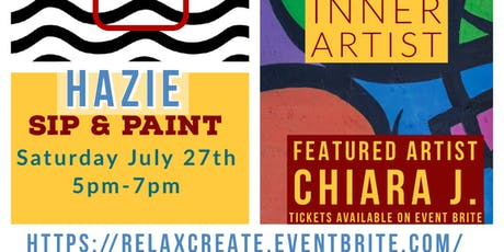 Hazie Sip and Paint tickets