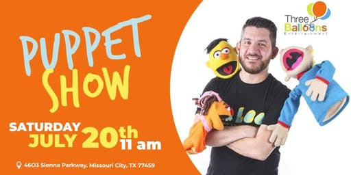 Puppet show and storytelling