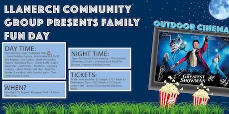 Family Fun Day & Outdoor Cinema tickets