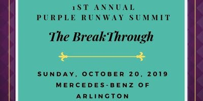 Break Through Summit with Purple Runway
