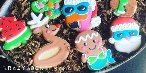 Christmas in july cookie class