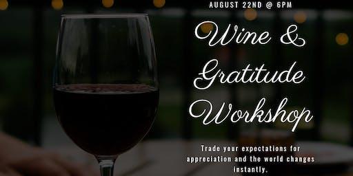 Wine & Gratitude Workshop