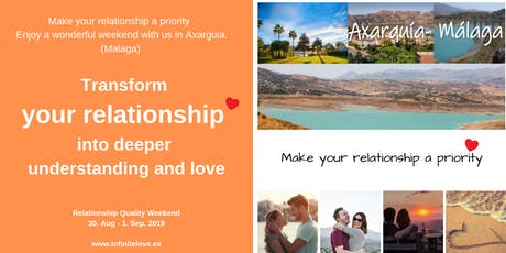 Transform your relationship into deeper understanding and love... entradas