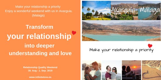 Transform your relationship into deeper understanding and love (Workshop)