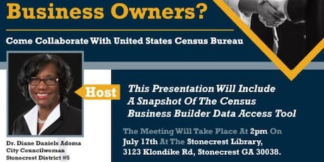2020 Census Meeting tickets