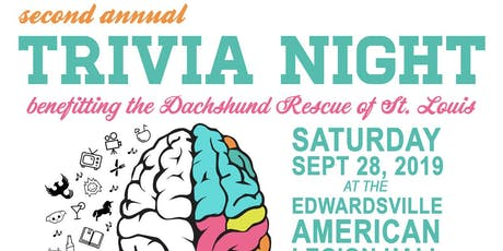 Dachshund Rescue of St. Louis Second Annual Trivia Night tickets