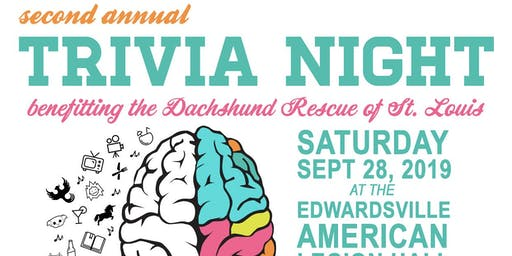 Dachshund Rescue of St. Louis Second Annual Trivia Night