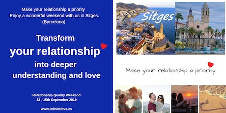 Transform your relationship in Sitges (12 hour workshop) tickets