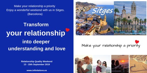 Transform your relationship in Sitges (12 hour workshop)