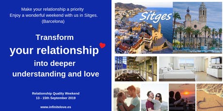 Transform your relationship into deeper understanding and love (Sitges) tickets