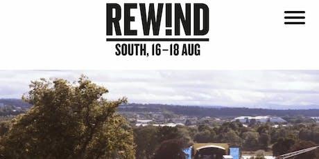 Rewind south tickets