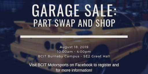 BMS Swap and Shop!