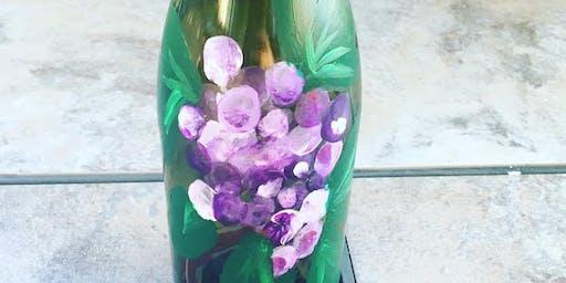 """Pour & Paint """"Wine Bottle Painting"""""""