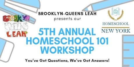 Homeschool 101 Workshop tickets