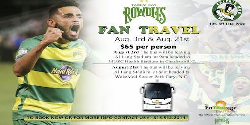 Rowdies Fan Travel
