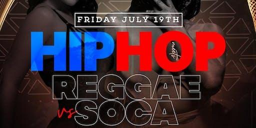 HIPHOP VS REGGAE VS SOCA @ AMADEUS NIGHT CLUB