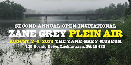 Zane Grey Plein Air tickets
