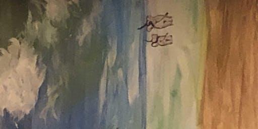 """Pour & Paint """"Land of Elephants"""""""