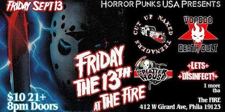 HPUSA F13 w Voodoo Death Cult Cut Up Naked Teens Splatterhouse tickets