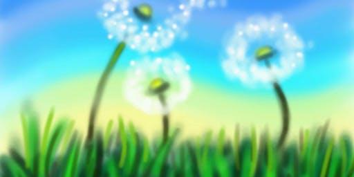 """Pour & Paint """"Make a Wish"""""""