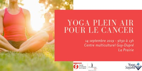 Yoga plein air pour le cancer billets