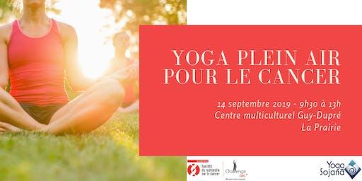 Yoga plein air pour le cancer