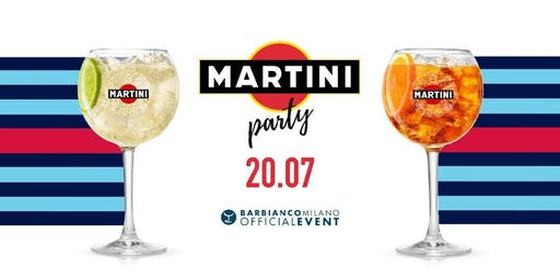 Bar Bianco Milano - Sabato 20 Luglio 2019 - Sunshine In The Park - Martini Summer Cocktail Party con Dj Set - Lista Miami - Accrediti e Prenotazioni Al 338-7338905