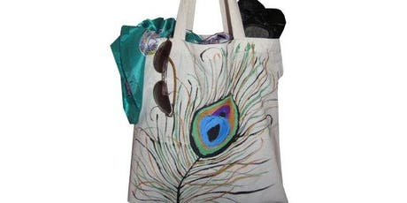 "Pour & Paint ""Create your own Tote Bag"" tickets"