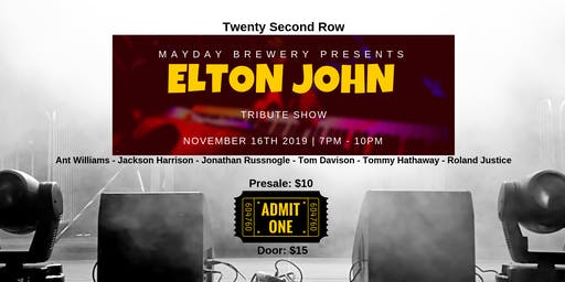 Twenty Second Row-Elton John Tribute Show